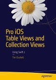 Pro iOS Table and Collection Views with Swift