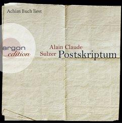 Postskriptum, 6 Audio-CDs - Sulzer, Alain Claude