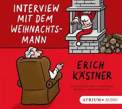 Interview mit dem Weihnachtsmann, Audio-CD - Kästner, Erich