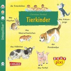 Eines der praktischen Softcover Baby Pixi Bücher: Tierkinder. Geeignet als Babybuch.