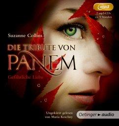 Gefährliche Liebe / Die Tribute von Panem Bd.2 (2 MP3-CDs) - Collins, Suzanne