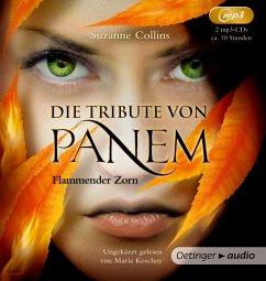 Flammender Zorn / Die Tribute von Panem Bd.3 (2 MP3-CDs) - Collins, Suzanne