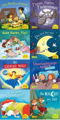 Pixi-Bundle 8er Serie 233: Pixi wünscht Gute Nacht