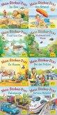 Pixi-Bundle 8er Serie 234. Pixis neue Sticker-Bücher (8x1 Exemplar)