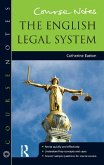 Course Notes: the English Legal System (eBook, ePUB)