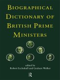 Biographical Dictionary of British Prime Ministers (eBook, PDF)