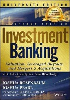 Investment Banking (eBook, PDF) - Rosenbaum, Joshua; Pearl, Joshua
