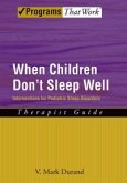 When Children Don't Sleep Well (eBook, ePUB)