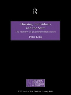 Housing, Individuals and the State (eBook, ePUB) - King, Peter