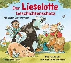 Der Lieselotte Geschichtenschatz, 2 Audio-CDs - Steffensmeier, Alexander