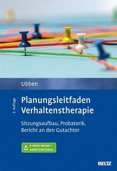 Planungsleitfaden Verhaltenstherapie - Ubben, Bernd