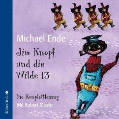 Jim Knopf und die Wilde 13 - Die Komplettlesung, 6 Audio-CDs - Ende, Michael