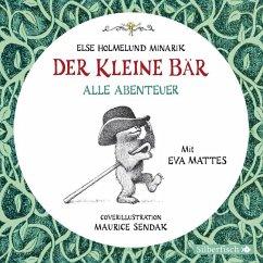 Der Kleine Bär - Alle Abenteuer, 1 Audio-CD - Minarik, Else Holmelund