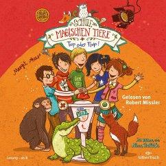 Top oder Flop! / Die Schule der magischen Tiere Bd.5 (2 Audio-CDs) - Auer, Margit