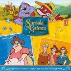 Frau Holle, Die drei Federn / SimsalaGrimm Bd.11 (1 Audio-CD)