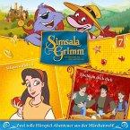 Schneewittchen, Tischlein deck dich / SimsalaGrimm Bd.7 (1 Audio-CD)