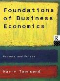Foundations of Business Economics (eBook, ePUB)