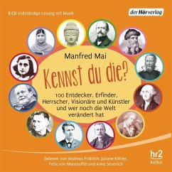 Kennst du die?, 8 Audio-CDs - Mai, Manfred