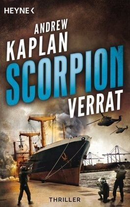Buch-Reihe Scorpion von Andrew Kaplan