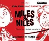 Hirnzellen im Hinterhalt / Miles & Niles Bd.1 (4 Audio-CDs)