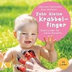 Zehn kleine Krabbelfinger, 1 Audio-CD