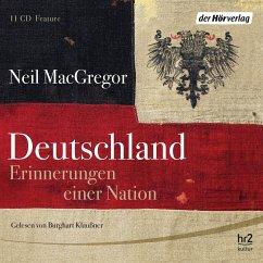 Deutschland, 11 Audio-CDs - MacGregor, Neil