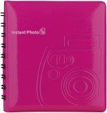 Fujifilm Instax Mini Photo Album pink für 64 Bilder 70100118321