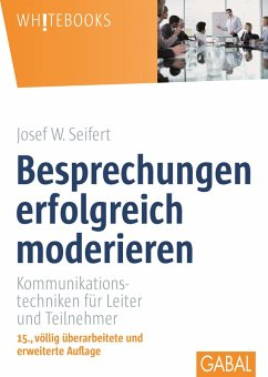 Besprechungen erfolgreich moderieren (eBook, PDF) - Seifert, Josef W.