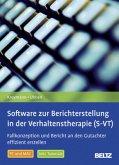 Software zur Berichterstellung in der Verhaltenstherapie (S-VT), 1 DVD-ROM