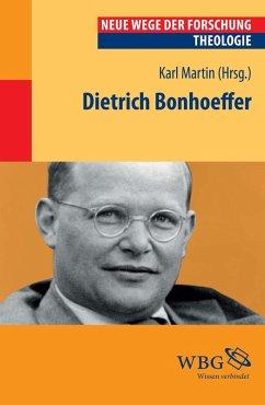 Dietrich Bonhoeffer (eBook, PDF)