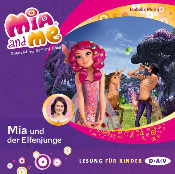 mia und der elfenjunge mia and me 1 audio cd von. Black Bedroom Furniture Sets. Home Design Ideas