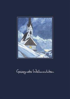 Reinhold Stecher Billet. Serie Weihnachten, Mot...