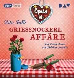 Grießnockerlaffäre / Franz Eberhofer Bd.4 (1 MP3-CD) - Falk, Rita