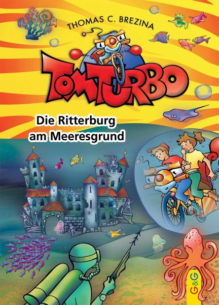 Buch-Reihe Tom Turbo