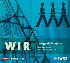 Wir, 2 Audio-CDs - Samjatin, Jewgenij