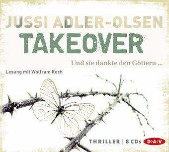 Takeover, 8 Audio-CDs - Adler-Olsen, Jussi