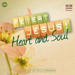Feiert Jesus! Heart & Soul, 2 Audio-CDs