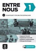 Entre nous 1 (A1). Zusatzheft für Deutschsprachige + MP3-CD