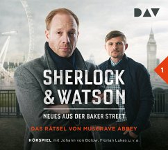 Das Rätsel von Musgrave Abbey / Sherlock & Watson - Neues aus der Baker Street Bd.1 (1 Audio-CD) - Koppelmann, Viviane