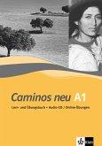 Caminos neu A1. Lern-und Übungsbuch mit Audio-CD/Online-Übungen