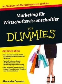 Marketing für Wirtschaftswissenschaftler für Du...