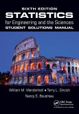Statistics for Engineering and the Sciences Student Solutions Manual