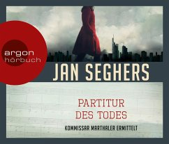 Partitur des Todes, 4 Audio-CDs - Seghers, Jan