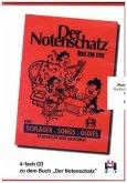 Der Notenschatz, 4 Audio-CDs