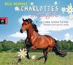 Erste Liebe, erstes Turnier / Charlottes Traumpferd Bd.4 (4 Audio-CDs)