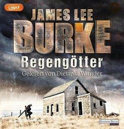 Regengötter / Hackberry Holland Bd.1 (2 MP3-CDs) - Burke, James Lee