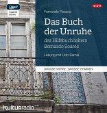 Das Buch der Unruhe des Hilfsbuchhalters Bernardo Soares, 1 MP3-CD