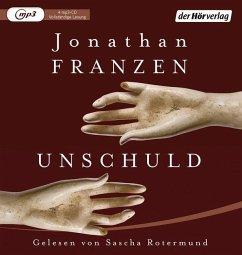 Unschuld, 4 MP3-CDs - Franzen, Jonathan