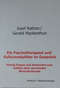 Ein Psychotherapeut und Kulturanalytiker im Gespräch