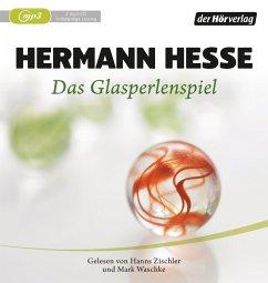 Das Glasperlenspiel, 2 MP3-CDs - Hesse, Hermann